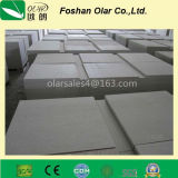 Panneau de tissu-renforcé approuvé de silicate de calcium de la CE pour la construction