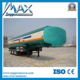 トレーラーが付いている3axle 60cbmの燃料のガソリンディーゼル油のタンカー