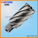 Coupeur de trou d'acier à coupe rapide (partie lisse de Weldon) (DNHX)