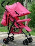 2016 Wandelwagen de Van uitstekende kwaliteit van de Baby met Rode Kleur