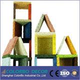 Panneau de mur acoustique favorable à l'environnement de copeaux de bois