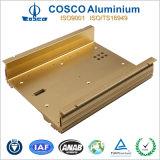 OEM Mecanizado Aluminio Electrónica Caja para Power Amplifier