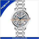 Qualitäts-Edelstahl-Armbanduhr-wasserdichte Quarz-Uhr