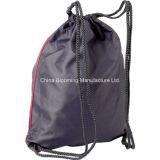 O Drawstring relativo à promoção do esporte da poeira de Gymsack da cor múltipla calç o saco