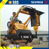 Skid Steer Loader Xd380에 소형 Sweeper