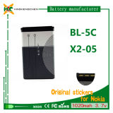 Mini batería del teléfono 1020mAh para Nokia Bl-5c C2-08 X2-01 X2-02 X2-05