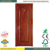 Pintu PVC-Tür-Toilette PVC-Tür PVC-Innentür