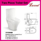Cabinet d'aisance vidant d'Econormic 2PC de lavage à grande eau de densité en céramique