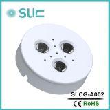 iluminación emergida redonda de la cabina de 3W LED con precio de fábrica