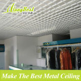 2017 nuevo techo de la rejilla del metal de la decoración interior