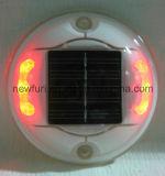 Gato de ojos aluminio LED solar Camino Stud