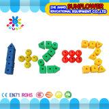 Particelle elementari da tavolino di plastica del branello del giocattolo dei bambini