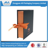 Ribbon Close를 가진 호화스러운 Presentation Chocolate Hinged Packaging Paper Chocolate Box