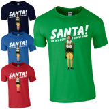 2017 Hot Sale Promotional Mens Funny Christmas T-Shirt (A236)