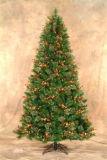 пленка PVC 0.12mm зеленая для рождественской елки