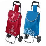 大きい容量の昇進スーパーマーケットのためのFoldableショッピングトロリーカート袋を運びなさい