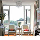 Openslaand raam van het Aluminium van het Ontwerp van Feelingtop het Nieuwe (voet-W70)