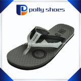 Formato nero 9 di vibrazione del Mens dei sandali di gomma di caduta noi nuovi