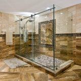 シャワー・カーテンのための強くされた超明確なガラス