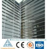 El aluminio vendedor caliente del precio de fábrica sacó perfil para la puerta de aluminio