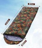 Camuflar direto do outono da fábrica saco de sono de acampamento ao ar livre do envelope