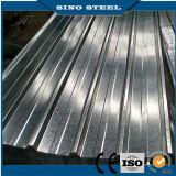 Hoja de acero/placa galvanizadas acanaladas Sgch duras llenas