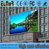 Placa de indicador ao ar livre do diodo emissor de luz de P6 SMD3535 para anunciar o vídeo