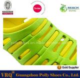2016 zapatos suaves del más nuevo de EVA del jardín del estorbo hombre ocasional de China