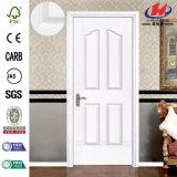 Porte en bois plus blanche en stratifié de l'amorce HDF