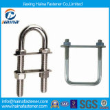 Classe 8.8 4.8 parafusos chapeados zinco do aço de carbono U/parafuso aço inoxidável Ss316 Ss304 U
