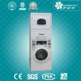 Hôtel Commercial/Industrial Coin Operated Automatic Laundry Washing Machine avec Dryer