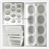 Weißes Ecco-Freundliches gestempelschnitten weg von verpackenschaumgummi-Einlage