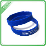 Promotion를 위한 좋은 Price Debossed Silicone Wristband