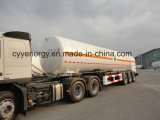 Химически Liquid Oxygen Fuel Tanker Semi Trailer с ASME GB