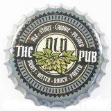 Grappige Duidelijke Kroonkurk van het Teken van het Bier van het Tin van het Metaal Voor Staaf