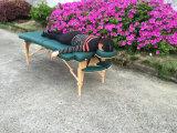 Mesa de masaje portátil de madera, cama de masaje, sofá de masaje Mt-006s-3