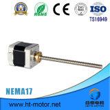 Motor de pasos linear de la nema 17/42*42 con el tornillo de posicionamiento