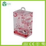 Empaquetage cosmétique fait sur commande d'ampoule de rouge à lievres d'emballage en plastique