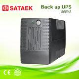 Ligne UPS interactif 500va avec les batteries intrinsèques