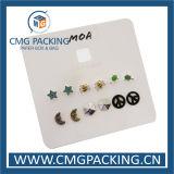 인쇄된 전시 귀걸이 걸림새 꼬리표 (CMG-100)