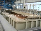 Machine de galvanisation d'IMMERSION chaude de fil d'acier avec du ce certifié