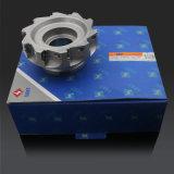 Cortador de trituração do padrão de ISO, ferramenta Indexable da trituração de cara do CNC, inserção de Apkt
