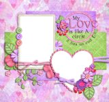 Custom Design Cute Paper Photo Frame quadros baratos a granel