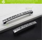 Ручки кухни шкафа сплава цинка роскошные кристаллический