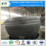 Protezione di estremità capa servita di emisfero per il serbatoio dell'aria