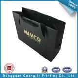 Saco de compras de papel de moda com alça de algodão (GJ-bag123)