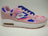 고품질 상표 단화 여자 꽃 인쇄 신발