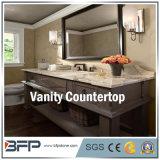 De marmeren Bovenkant van de Ijdelheid voor Badkamers met Opgepoetste Oppervlakte