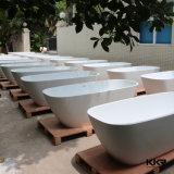 Vasca da bagno indipendente di pietra di marmo artificiale 2016 della Doubai di disegno dell'Italia