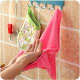 As melhores toalhas de prato roxas de Microfiber de toalhas de prato da cozinha